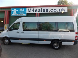 used Mercedes Sprinter 513 CDI 17 seat Traveliner PSV Tested in wiltshire