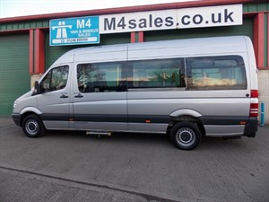 used Mercedes Sprinter 313 CDI LWB Wheel Chair Access Minibus in wiltshire