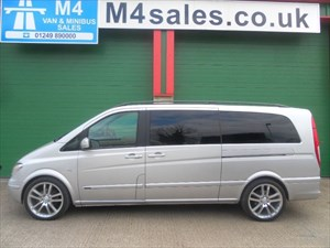 used Mercedes Viano CDI EXTRA LONG AMBIENTE in wiltshire