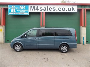 used Mercedes Viano CDI EXTRA LONG AMBIENTE NO VAT in wiltshire