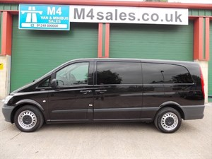 used Mercedes Vito 113 CDI TRAVELINER Extra Long in wiltshire