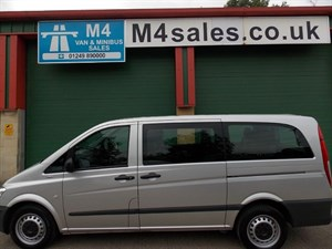 used Mercedes Traveliner 110cdi,9st traveliner minibus, F & R A/con in wiltshire