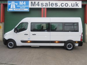 used Renault Master 17 Seat COIF in wiltshire