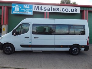 used Renault Master 17st minibus, tacho, elec sidestep. ~~PSV AVAILABLE~~ in wiltshire
