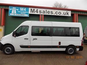 used Renault Master LM39 DCI 17 Seat Minibus QUICKSHIFT in wiltshire