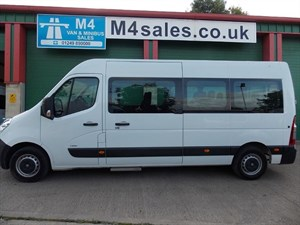 used Vauxhall Movano 17st, tacho, F/R Air conditioning in wiltshire