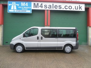 used Vauxhall Vivaro 12 seat,lwb, VERY RARE VEHICLE in wiltshire