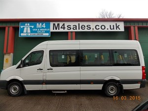 used VW Crafter 16 Seat Minibus in wiltshire