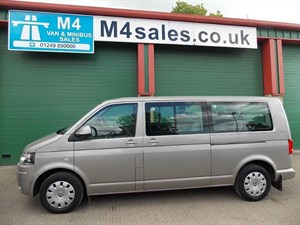 used VW Transporter T30 TDI SHUTTLE SE 140PS Minibus in wiltshire