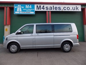 used VW Transporter 140ps,9st Shuttle SE Minibus. **Only 2800miles** in wiltshire