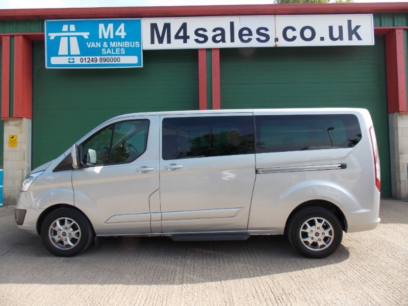 used Ford Tourneo Custom 125ps,9st n/shape ltd model Minibus. in wiltshire