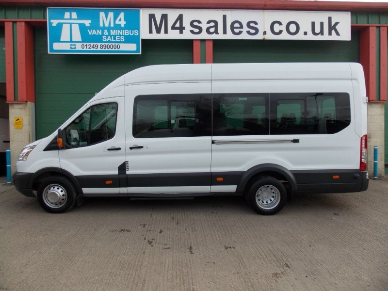 used Ford Transit 460 17 Seat  125ps AC in wiltshire