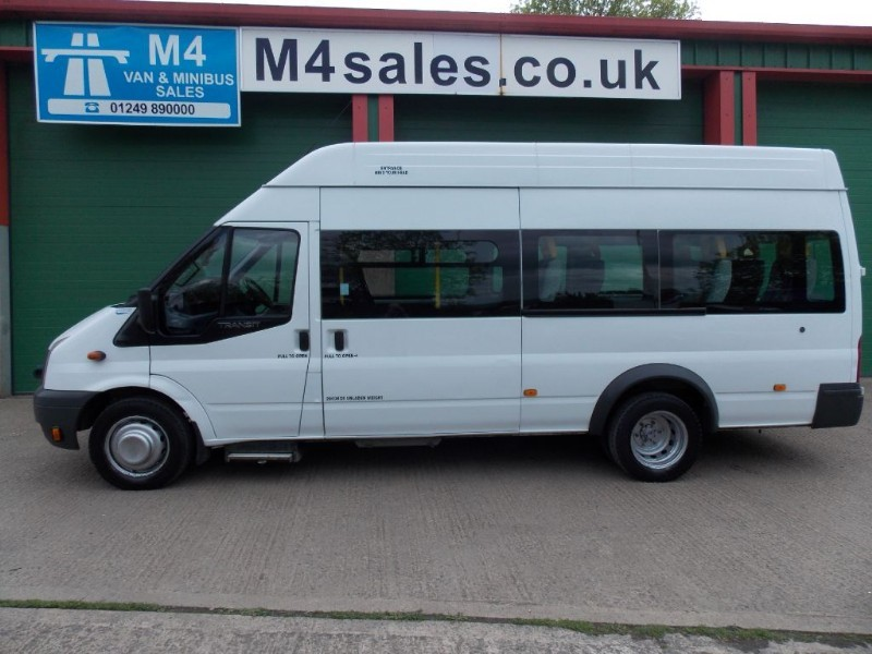 used Ford Transit 115ps,12st W/Chair Access Minibus in wiltshire