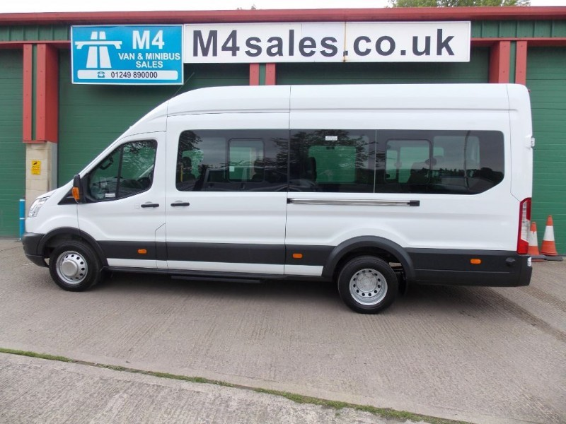 used Ford Transit 460 17 Seat 125ps  in wiltshire