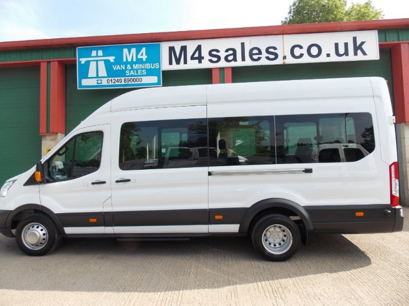used Ford Transit 460 17 Seat Minibus, Tacho, A/C. in wiltshire