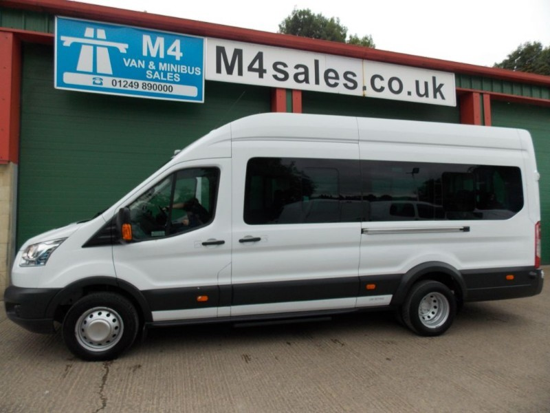 used Ford Transit 460 17 Seat  125ps AC PSV TESTED in wiltshire