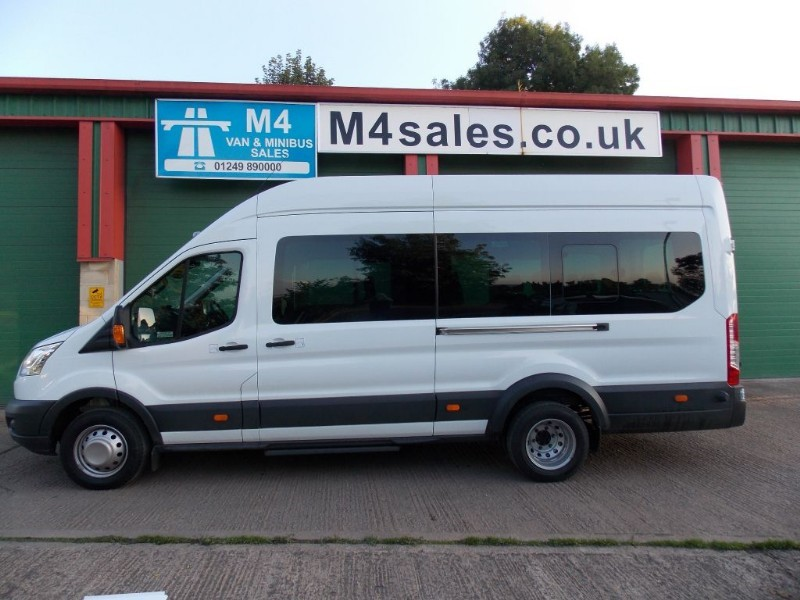used Ford Transit 17st Trend Minibus,F/r A/con & O/head Storage. in wiltshire