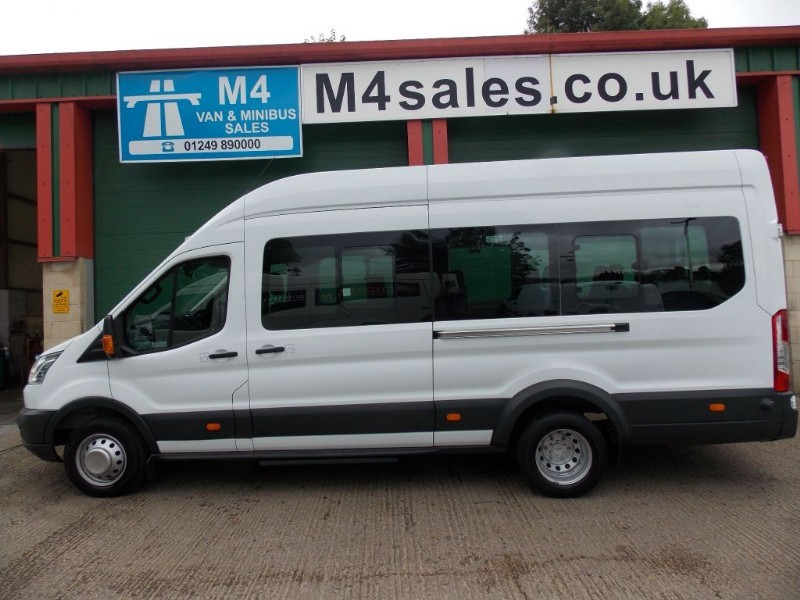 used Ford Transit 125ps, 17St N/Shape Minibus in wiltshire