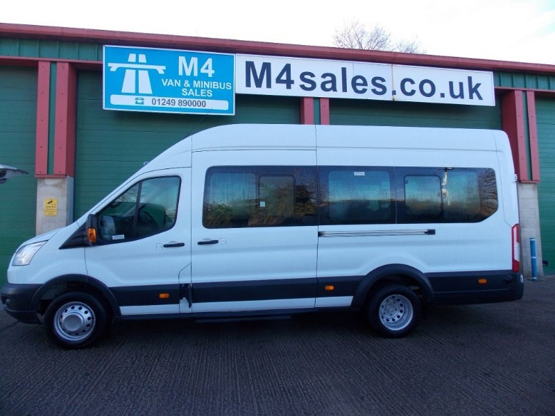 used Ford Transit 125ps,17st minibus,PSV,Tacho. in wiltshire