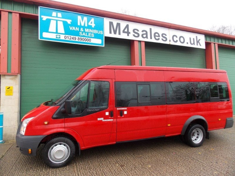used Ford Transit 135ps, 17St Minibus,Tacho,PSV. in wiltshire