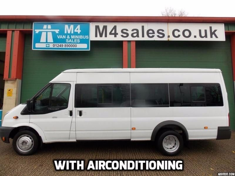 used Ford Transit 135ps,17st minibus,a/con,tacho,psv in wiltshire