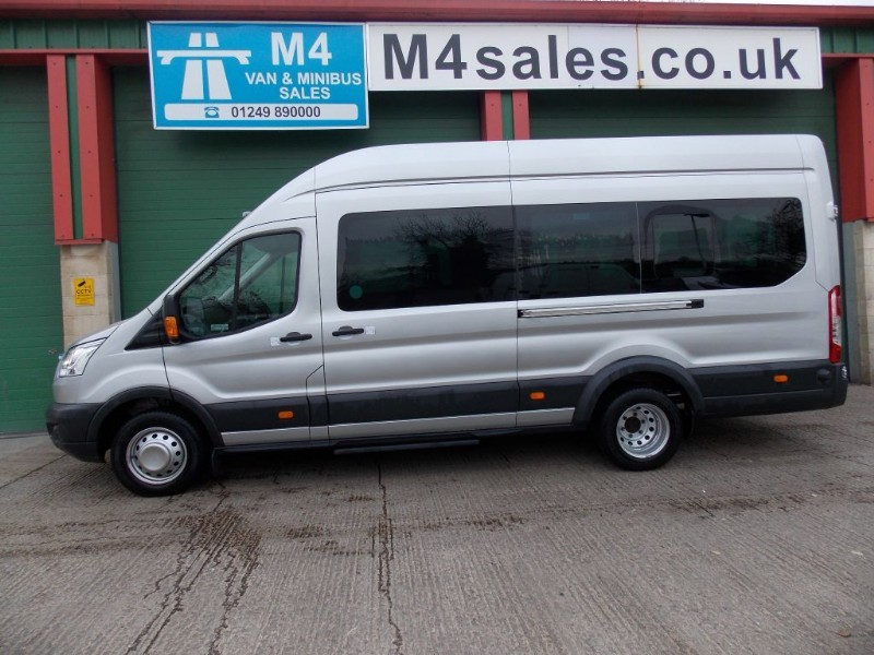 used Ford Transit 135ps,17st trend minibus,tacho in wiltshire