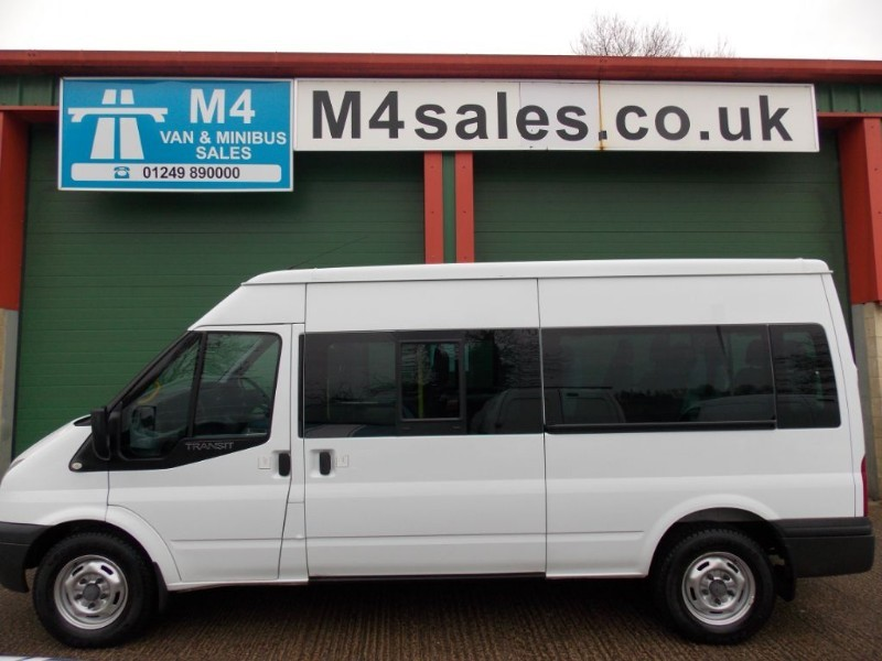 used Ford Transit 135ps,14st 3.5t minibus in wiltshire