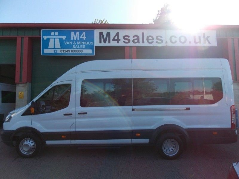 used Ford Transit 135ps,17st N/Shape minibus,PSV,Tacho. in wiltshire
