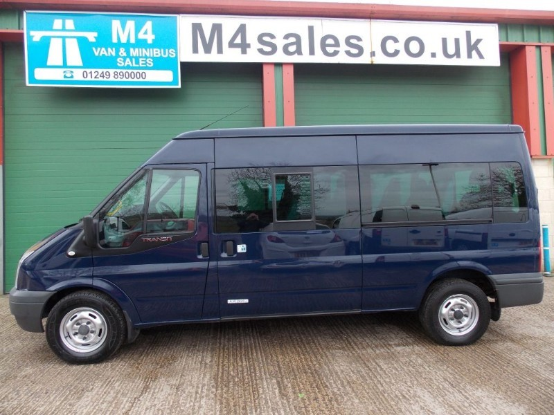 used Ford Transit 115ps,15st minibus. in wiltshire