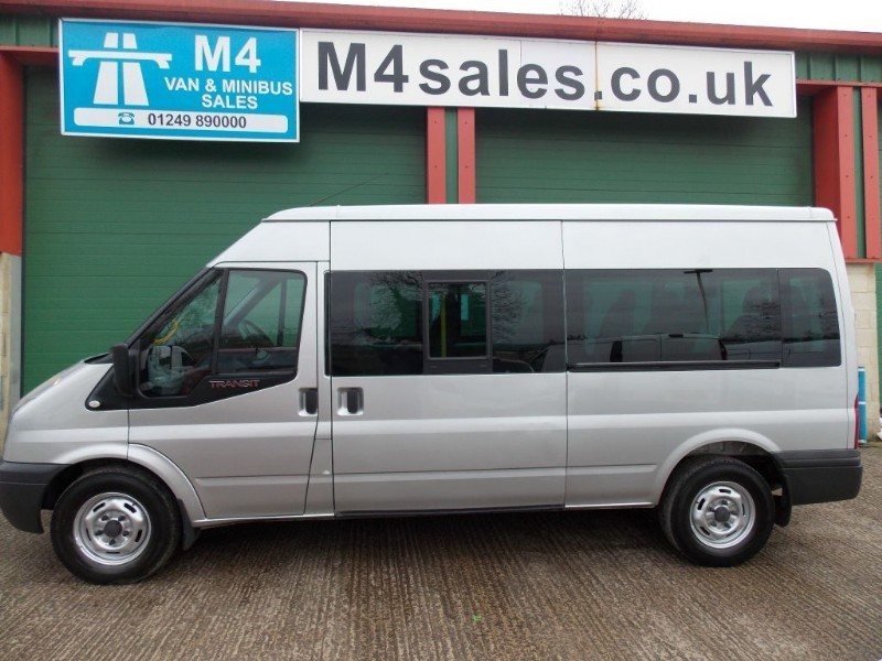 used Ford Transit 135ps,14st minibus,Full a/con. in wiltshire