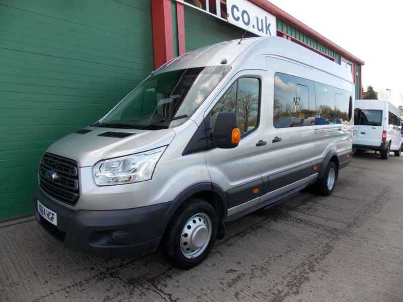 used Ford Transit 125ps,17st trend minibus,f/r a/con. in wiltshire
