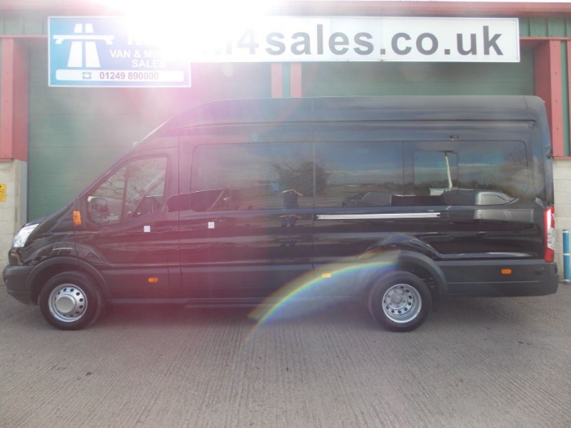 used Ford Transit 135ps,17st trend minibus. in wiltshire
