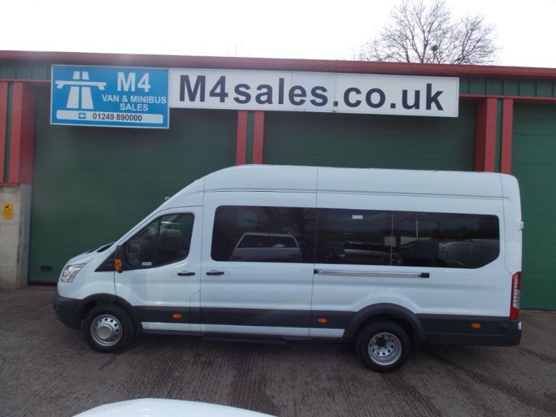 used Ford Transit 135ps,17st trend minibus.Delivery miles in wiltshire