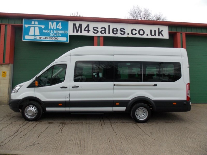 used Ford Transit 125ps,17st minibus,tacho, a/c,psv. in wiltshire