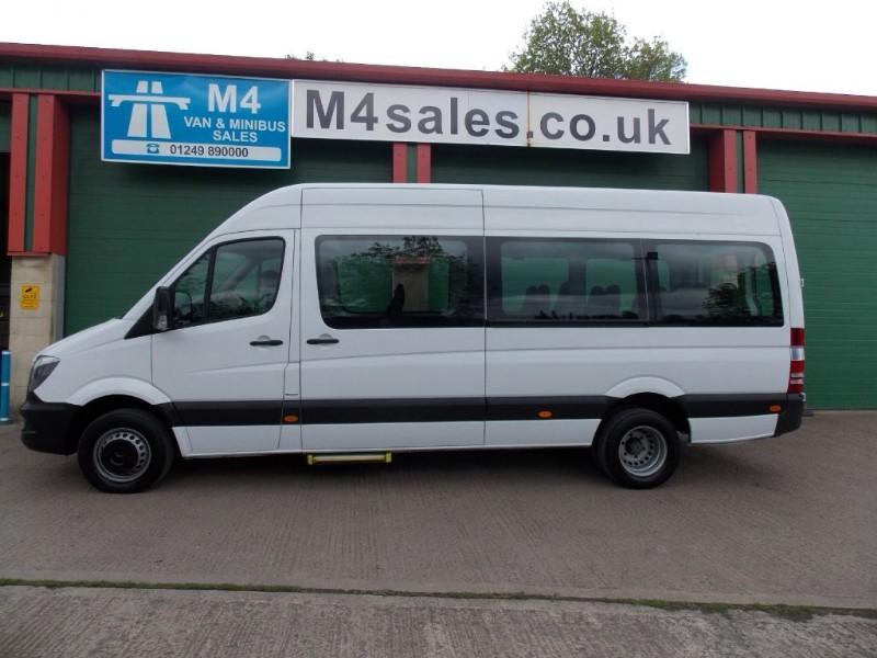 used Mercedes Sprinter 513 BLUETEC 17 Seat  Minibus A/C  in wiltshire