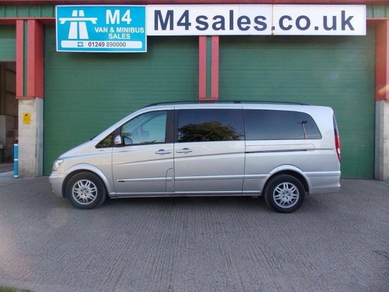 used Mercedes Viano AMBIENTE CDI BLUEEFFICENCY EXLWB 8 Seater  in wiltshire