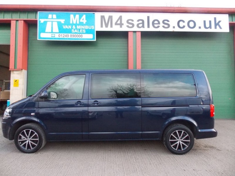 used VW Transporter 180ps,9st minibus,alloys. in wiltshire