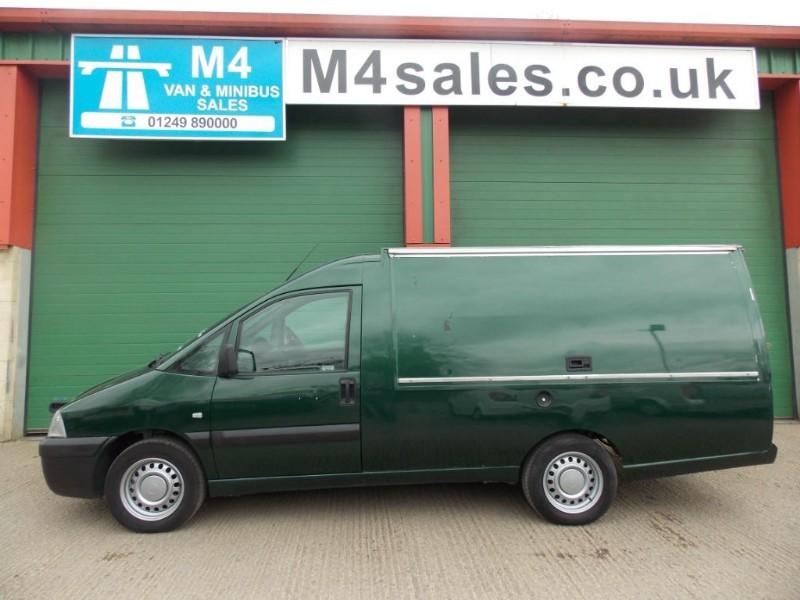 used Fiat Scudo JTD SX Catering Van / Food Van No VAT  in wiltshire
