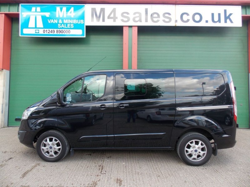 used Ford Transit Custom 290 Limited Crew Van 6 Seater A/C Alloys L1 H1  in wiltshire