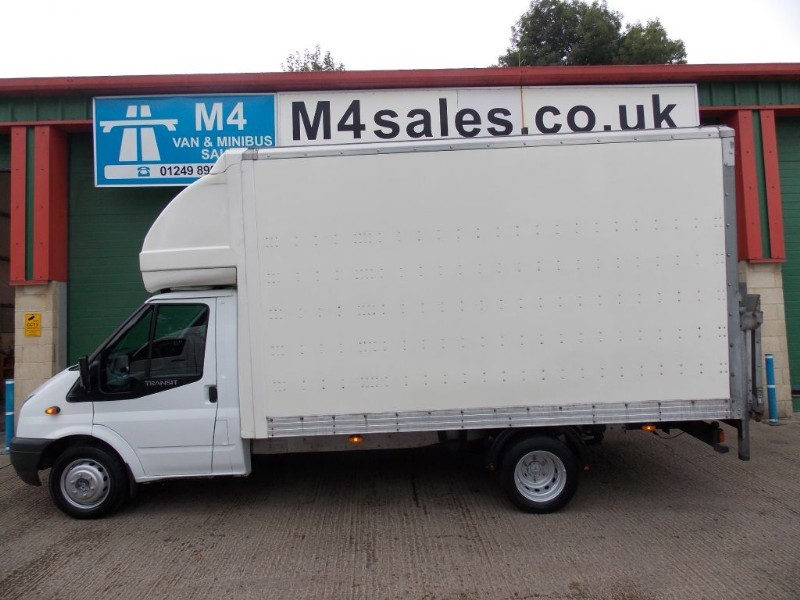 used Ford Transit 350 14FT Body With Tail lift  in wiltshire