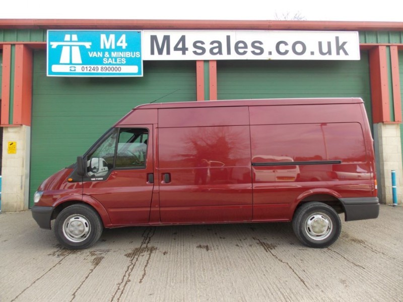 used Ford Transit 135ps,lwb 6spd van,a/con,fsh. in wiltshire