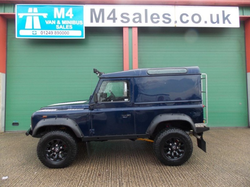 used Land Rover Defender 90 TD5 NO VAT Big Spec Van  in wiltshire