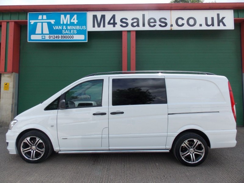 used Mercedes Vito 122cdi,224ps lwb 5st SportX Brabus D/liner. in wiltshire