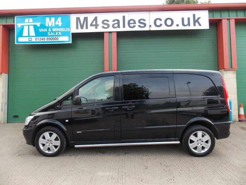 used Mercedes Vito 116 CDI Sport DUALINER A/C Tailgate 1 Owner Big Spec in wiltshire