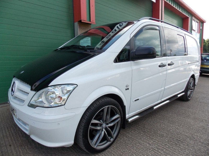 used Mercedes Vito 122 CDI DUALINER 225 BHP Heated Leather Seats Tailgate  in wiltshire
