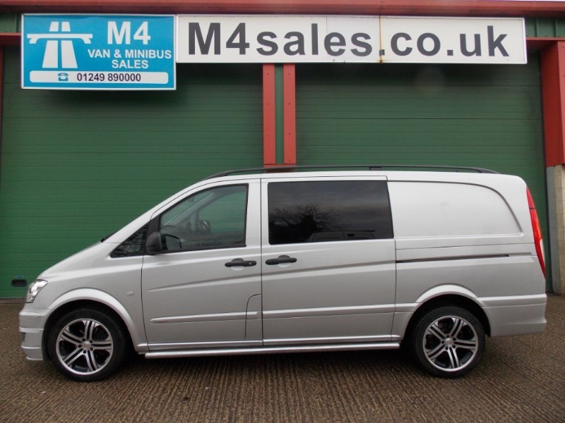 used Mercedes Vito 122cdi,224ps 5st lwb SportX Brabus.  in wiltshire