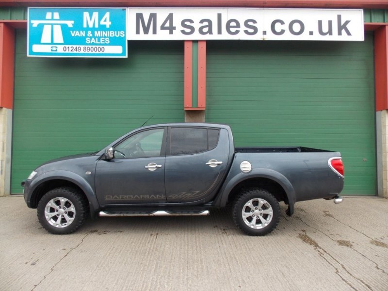 used Mitsubishi L200 4x4 BARBARIAN LB NO VAT Leather Sat Nav Cambelt Done @ 76k  in wiltshire