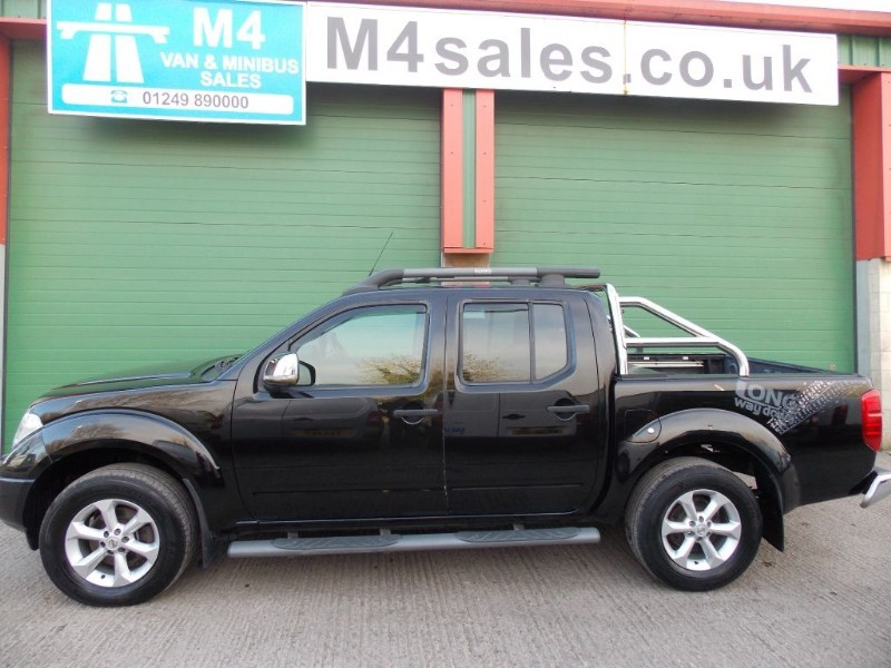 used Nissan Navara d/cab,Special edition high spec in wiltshire