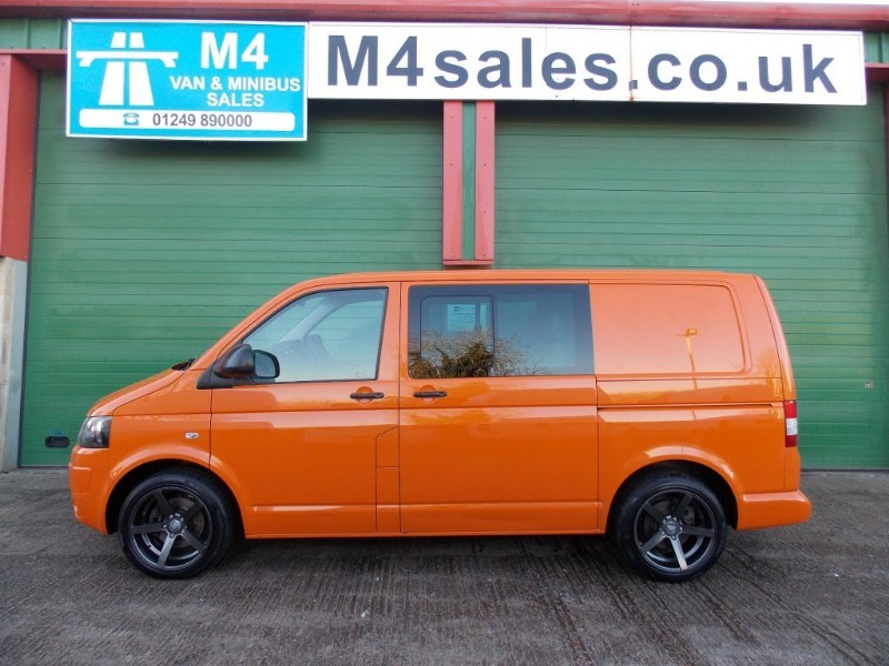 used VW Transporter T30 TDI KOMBI 4MOTION A/C Tailgate 4x4 in wiltshire