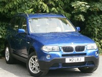 Used BMW X3 2.0d SE 5dr with Bluetooth Con